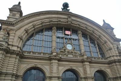 フランクフルト~ブリュッセル・高速鉄道ICEで快適旅