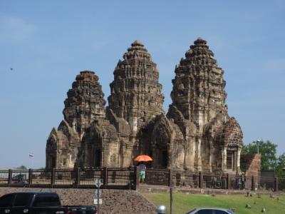 2017 タイ 父子2人旅 ~ ロッブリー ~ クメール時代の遺跡が残る旧市街を歩く ~ バンコクからの日帰り旅