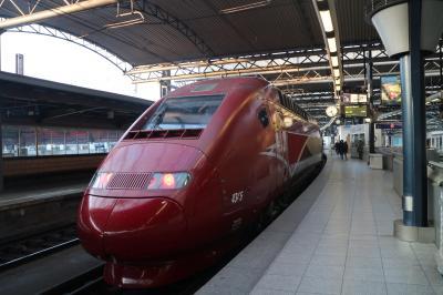 ブリュッセルから一泊パリ旅行。タリスで楽々。