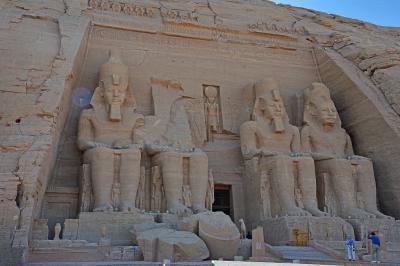 2018冬のエジプト旅行(7)-ナイル川クルーズ4日目其の2(アブシンベル神殿)-