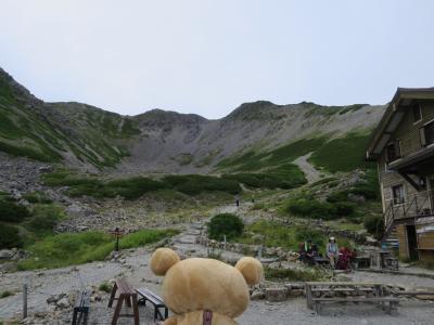 甲斐駒ケ岳 仙丈ヶ岳 行ってクマす。仙丈ヶ岳~北沢峠