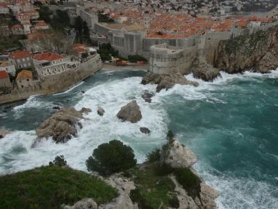 悪天候のドブロヴニク観光 ⑤ドブロヴニクカードを使って、ロヴリイェナツ要塞へ
