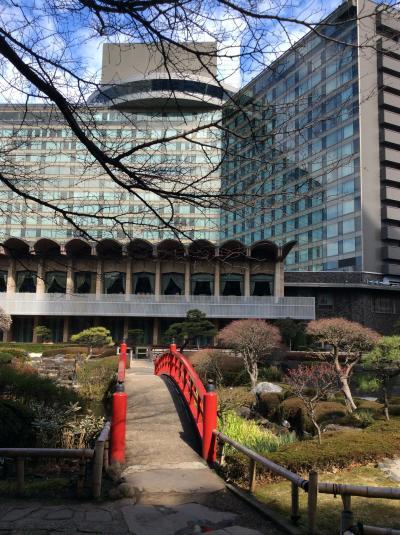 ホテルニューオオタニの日本庭園の朝