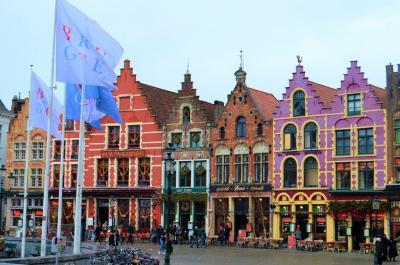 【ベルギー・ブルージュ】ポルトガル経由で中世の街へ!ヨーロッパ&モロッコへ新年旅/6