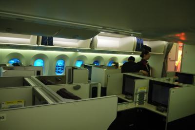北イタリアの小さな都市巡り その1 JALビジネスクラスで成田空港から出発してフランクフルトで友人に会う
