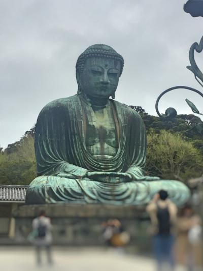 強風大荒れの鎌倉小旅行