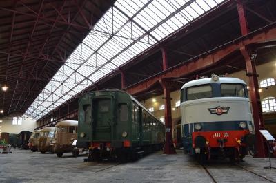 【列車で紡ぐヨーロッパ周遊】(18-2)ローマからナポリへ日帰り旅行…ピエトラルサ国立鉄道博物館(その2)