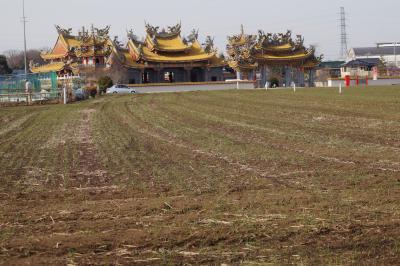 埼玉のド辺鄙な田園地帯に立つ台湾系道教寺院、聖天宮(せいてんきゅう)