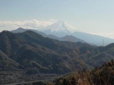 日帰り登山 扇山から百蔵山への縦走