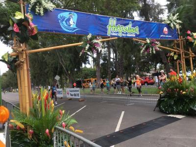 ハワイのハーフマラソン