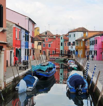 イタリア~マルタ卒業記念親子旅(3)記憶に残る旅をしよう~ムラーノ・ブラーノ島めぐりとベネチアの夕景~早鐘を打つ心臓は、永遠の記憶となった
