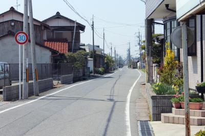 kオジサンの中山道旅日記  その5  近江鉄道豊郷駅 から守山駅  へ