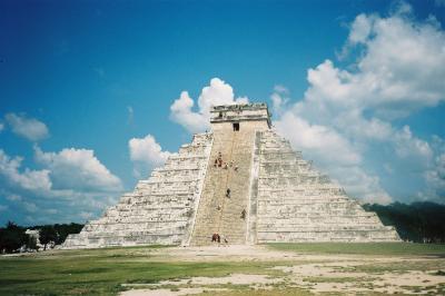 アステカとマヤの遺跡を巡るメキシコの旅3=1998年8月(チチェン・イッツァ)