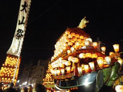2018春の愛知(2)犬山祭(試楽祭)夜の部と徳川美術館