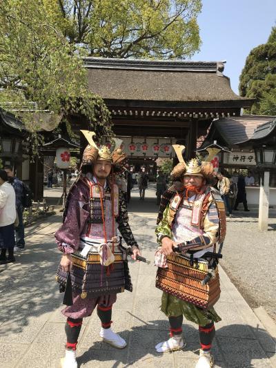 2018年4月 平野神社 桜花祭を楽しんできました。