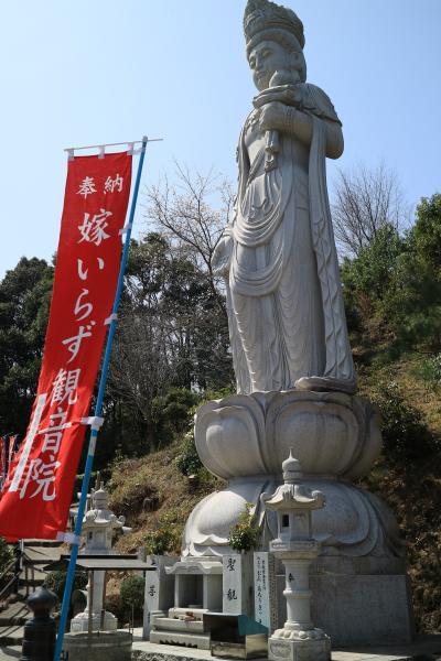 岡山県井原市の桜の名所と「嫁いらず観音」