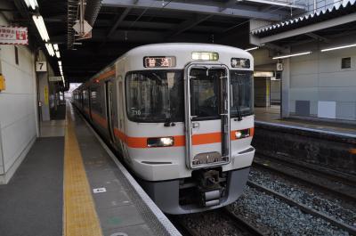2018年4月東海地方ローカル私鉄の旅6(大垣駅から豊橋で一泊、翌朝金谷駅へ)
