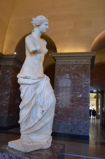 美の殿堂、ルーブル美術館、仏英旅行記その三
