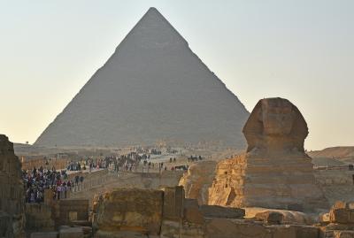 2018冬のエジプト旅行(8)-カイロ近郊のピラミッド群(ツアー6日目)-