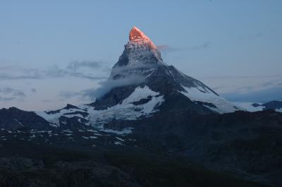 2005スイス旅行ゴルナード周辺トレッキングと山村ハイキング