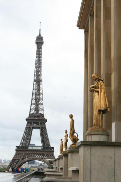 フランス パリ アンバリット ロダン美術館 ムーラン・ルージュまで