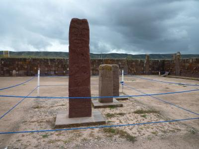 ラパス、ティワナク遺跡