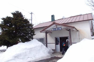 2018.04 北海道ローカル線の旅(5)札沼線新十津川駅へ