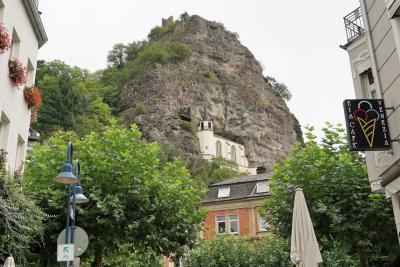 これが見たかった!悲しい伝説の岩盤教会 in イダーオーバーシュタイン 秋の風物詩ドイツ・スイスの旅10-1