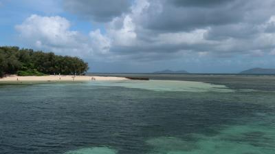 グレートバリアリーフのグリーン島に泊まりたくて。