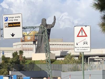 ローマからフランクフルト経由で帰ります。楽しかったイビサとイタリア。とくにイタリア好きになりました。