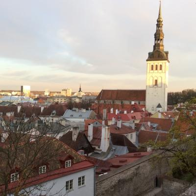 2016年GW  ヘルシンキからおとぎ国タリン旧市街へ