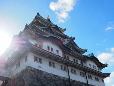 名古屋城 徳川家康築城 その大きさは雄大! 本丸御殿 素晴らしい襖絵にため息でした。