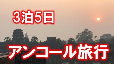 【動画】カンボジア3泊5日(アンコールワット・トレンサップ湖・戦争博物館など) 2018年2月