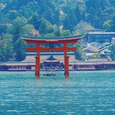 宮島に泊まる。素敵な宮島旅行!のはずが腹痛で悶えた旅。DAY1 素敵な宮島