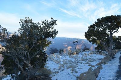雪の大峡谷