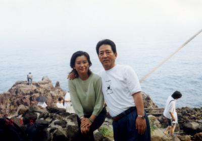 妻と母と伊豆高原の旅2000/09/08 (個人記録)