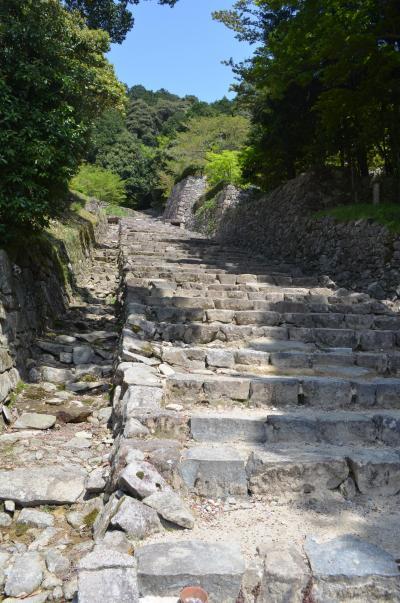 滋賀県旅行、安土城跡から近江八幡堀、石山寺へ