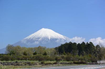 自転車でGO! 2018.04.12 =富士山を見ながら走って来ました=