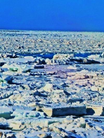 斜里-2 流氷の奇跡!知床半島に漂着・絶景の車窓 ☆海明け(網走)3月14日から7日後