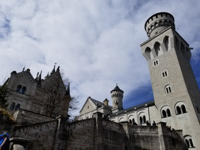 ドイツ 2日目 ノイシュヴァンシュタイン城とホーエンシュヴァンガウ城へ