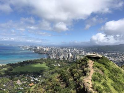 3度目のハワイ ダイヤモンドヘッド登頂