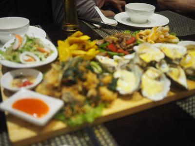 2018年3月、ベトナム、ハノイ旅行(6.24日夕食)