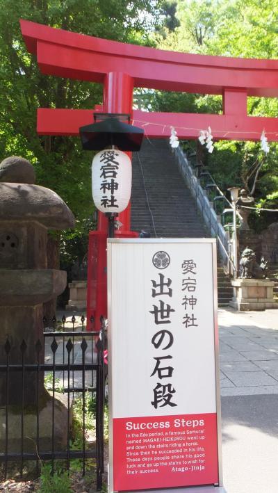 烏森神社→愛宕神社→増上寺と港区の神社仏閣お詣りしました!