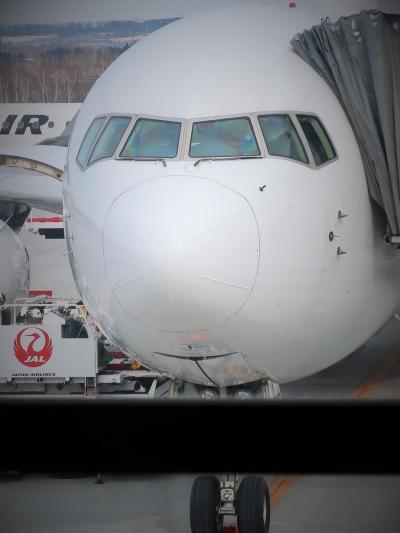 女満別空港 15:00発 JAL564便搭乗 ☆屋上展望台に再び・3日旅ありがとう!