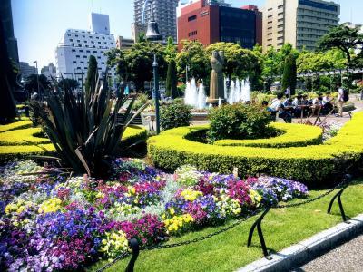 ガーデンネックレス横浜 日本大通り、横浜公園、象の鼻パーク、山下公園