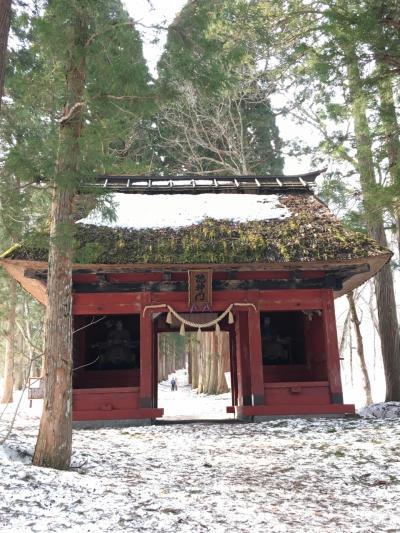信州・長野一人旅 (1) 戸隠の春は遠かった・・・