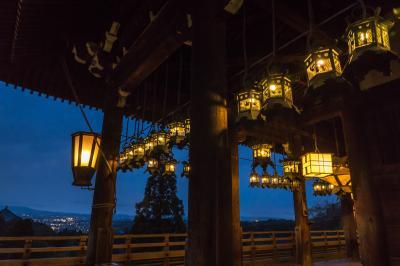 春の奈良へ_3. 石上神宮、薬師寺と夜の二月堂