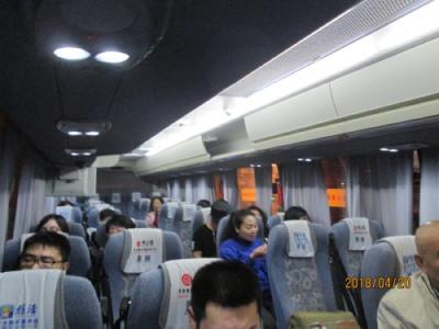 上海・虹口足球場から浦東空港、始発バス5時