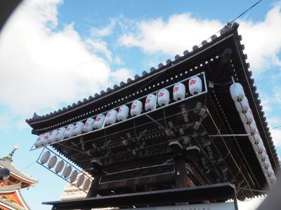 大須観音 日本三大観音の1つとも言われる観音霊場は 観光客も居て 溢れる人!