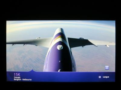 TGのA380とA350のビジネス乗ってきた♪(バンコクからメルボルンまでのA350編)